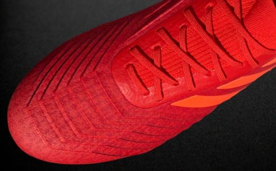 Chuteiras adidas Predator Rojo / Naranja