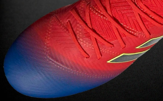 Chuteiras adidas NEMEZIZ Messi Azul Royal / Rojo
