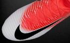 Botas de Fútbol Nike Mercurial Rosa / Blanco