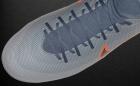 Chuteiras Nike Mercurial Gris / Naranja Flúor