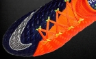 Botas de Fútbol Nike Hyper Venom Naranja Flúor / Azul Marino