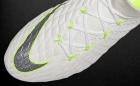 Botas de Fútbol Nike Hyper Venom Blanco / Amarillo Flúor