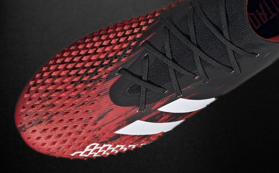 Chuteiras adidas Predator Preto / Vermelho