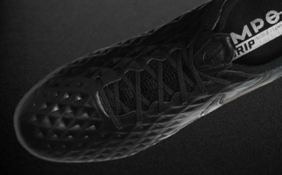 Chuteiras Nike Tiempo Preto / Negro
